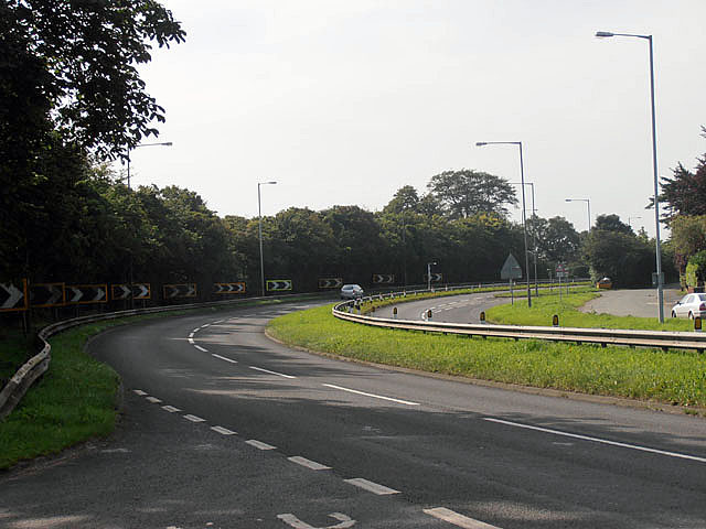 A449, it's almost a race track