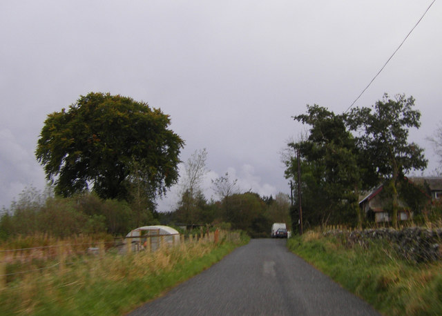 Minor road near Watcarrick