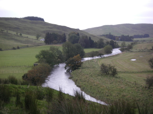 White Esk near Hillfoot