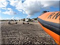 NZ3188 : Lifeboat on the beach by David Clark