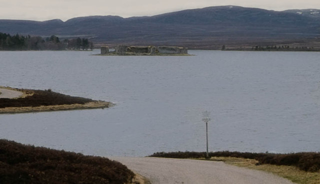 First sight of Lochindorb