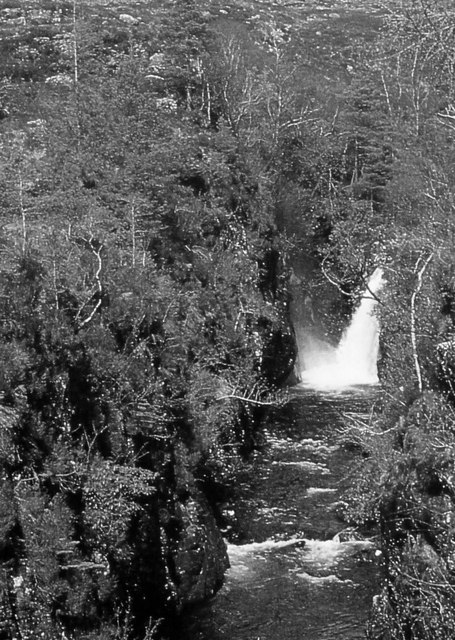 Waterfall, Abhainn Coire Mhic Nobuil