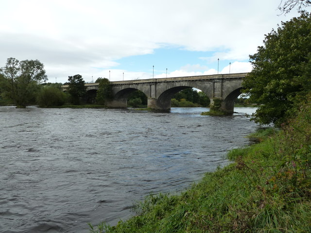 River Tweed and Kelso Bridge