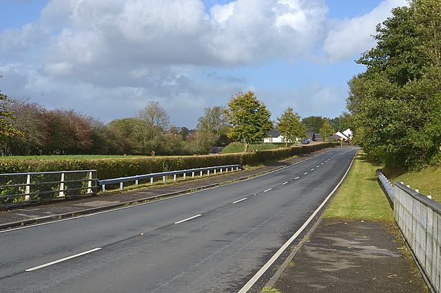 Southern approach to Tregaron
