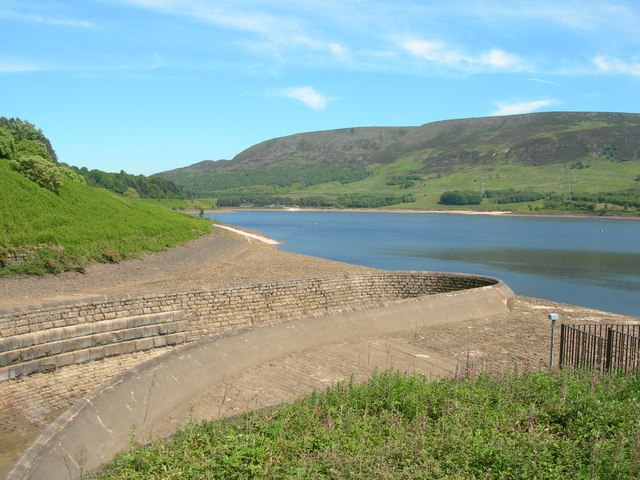 Torside Reservoir Overspill