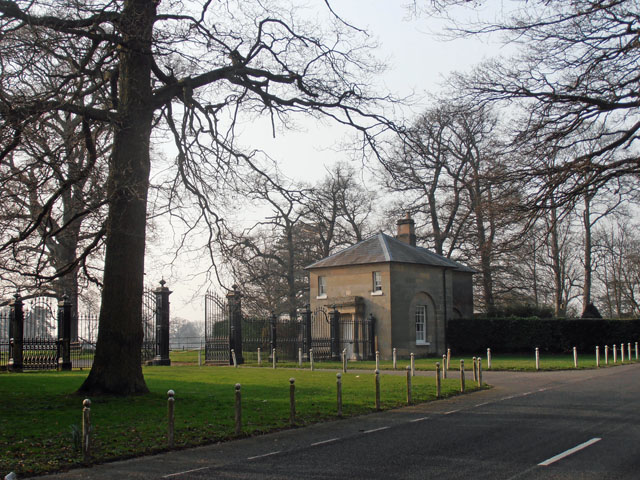 Lodge at entrance to Berwick House