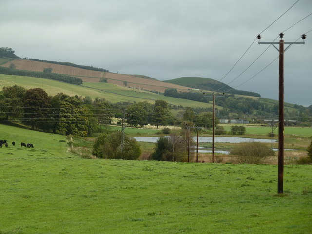 The Romany Marsh from the Duncanhaugh road