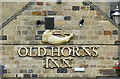 SK2692 : Old Horns Inn Sign, High Bradfield, near Sheffield by Terry Robinson