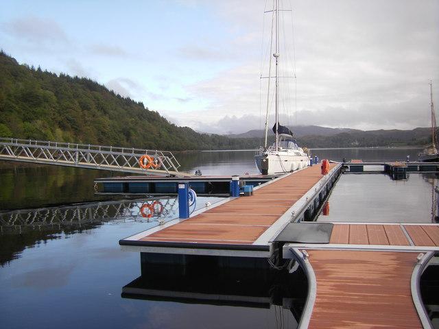 Pontoon, Loch Aline