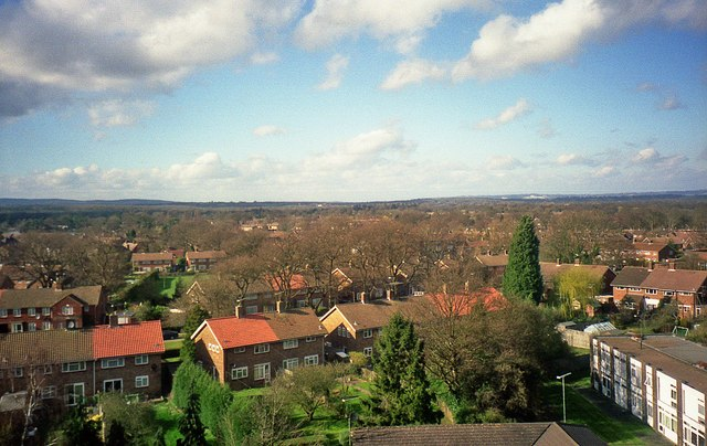 View from Crawley Hospital (1)