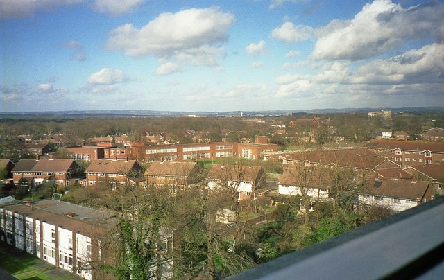 View from Crawley Hospital (2)