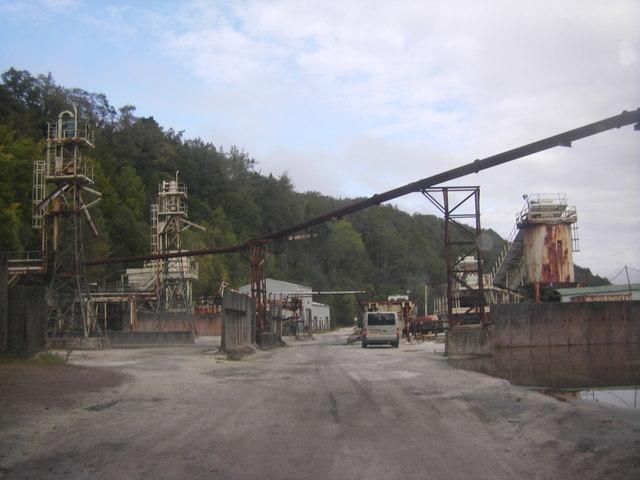 Sand Mine yard