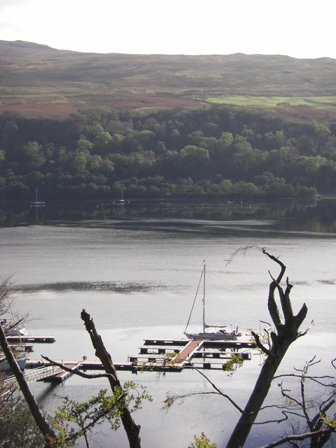 Floating pontoon, Loch Aline