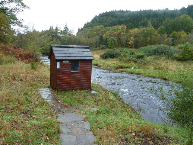 Water monitoring hut, River Aline