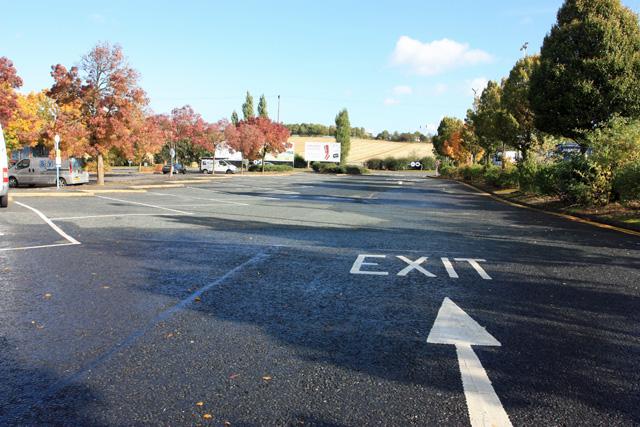 Ferrybridge Services - exit directions