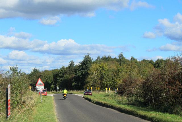 2012 : Minor road to Tilshead.