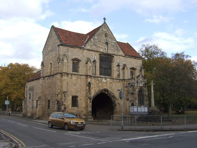 Gatehouse to Worksop Priory