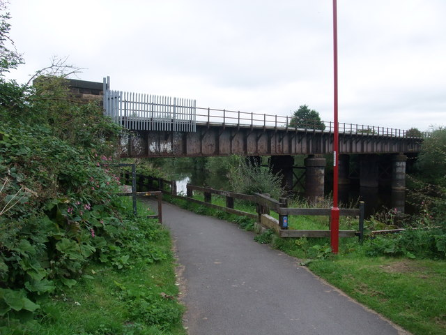 National Cycle Route 6 to centre of Derby