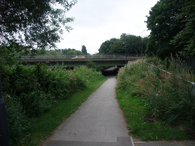 National Cycle Route 6 leaving Derby