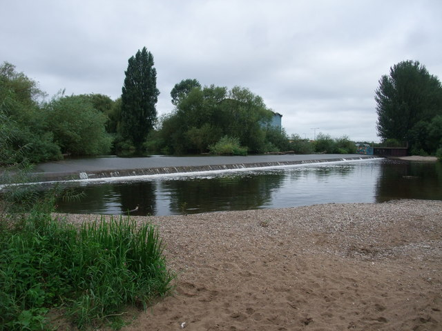 Beach on the River Derwent