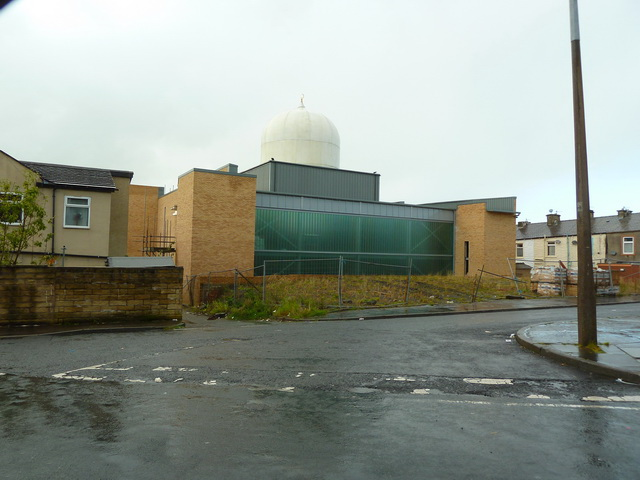 Unfinished mosque in Stoneyholme, Burnley