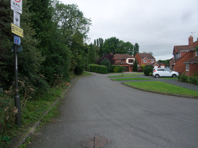 Cycle Route 6 on Fosse Close, Borrowash