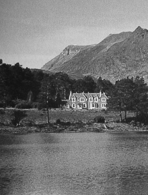 Coulin Lodge and Loch Coulin