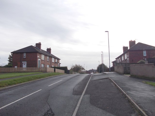 Bodmin Crescent - viewed from Bodmin Road
