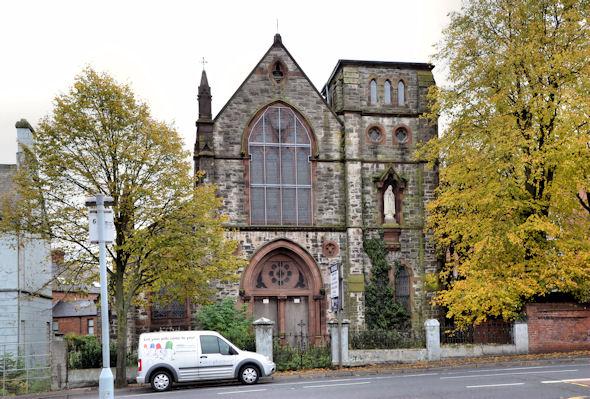 Former Holy Rosary church, Ballynafeigh, Belfast