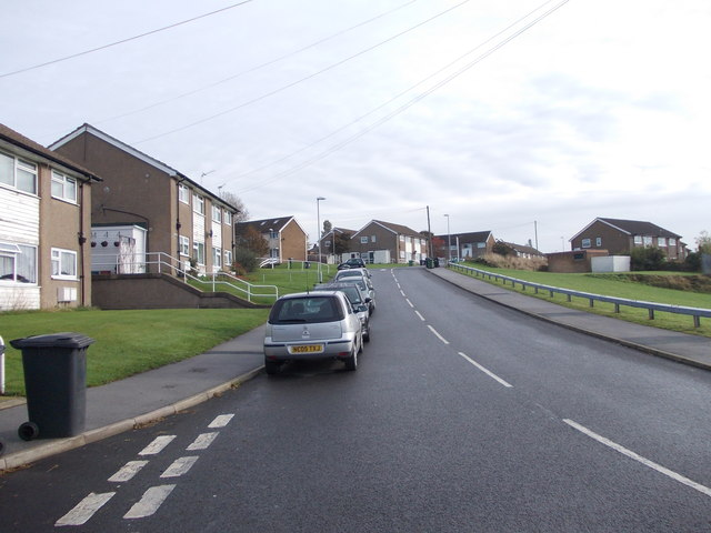 Bodmin Crescent - viewed from Helston Road