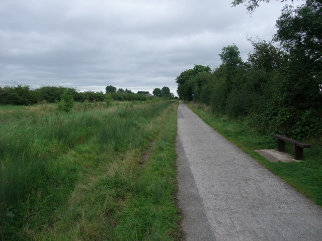 Cycle Route 6 following the former Derby canal