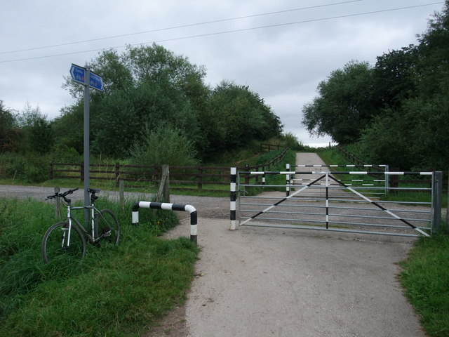 Cycle Route 6 on the edge of Breaston