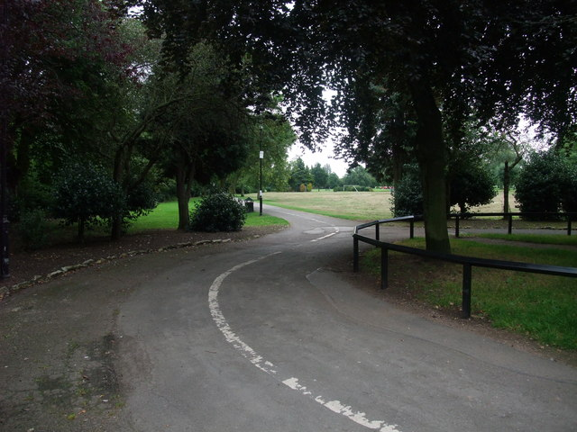 Entrance to West Park, Long Eaton