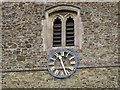 TQ3250 : St Mary the Virgin, Bletchingley: clock by Stephen Craven