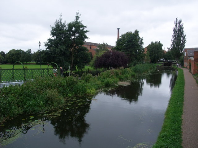 Canal at the east end of west Park
