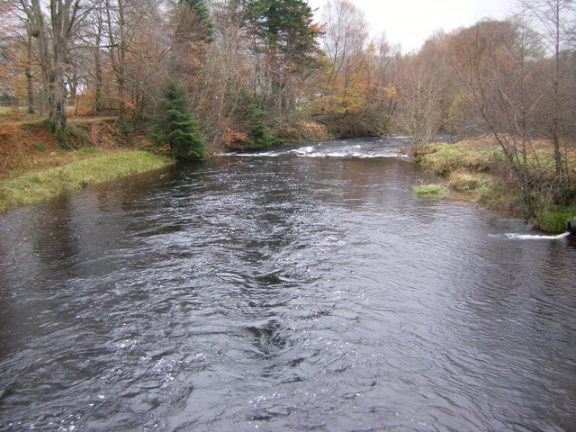Strontian River from Church Bridge