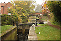 SK7081 : West Retford Lock by Richard Croft