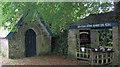 SW7827 : Lychgate at Church of St Mawnan by Stuart Logan