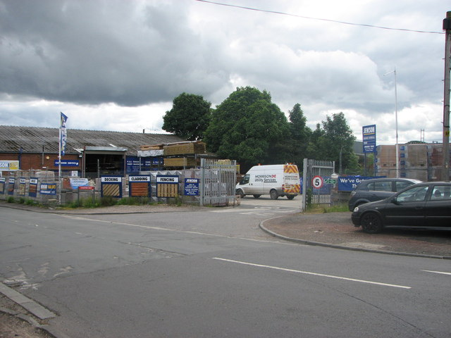 Jewson building suppliers, Morpeth