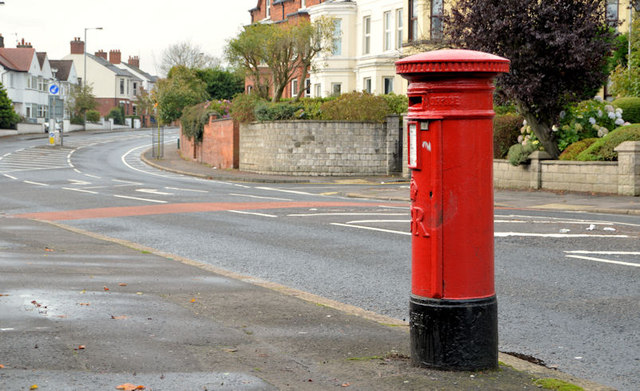 Pillar box, Belfast