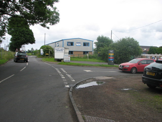 Coopies Lane road junction