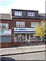 SE2928 : Midway Pharmacy - Middleton Park Circus by Betty Longbottom
