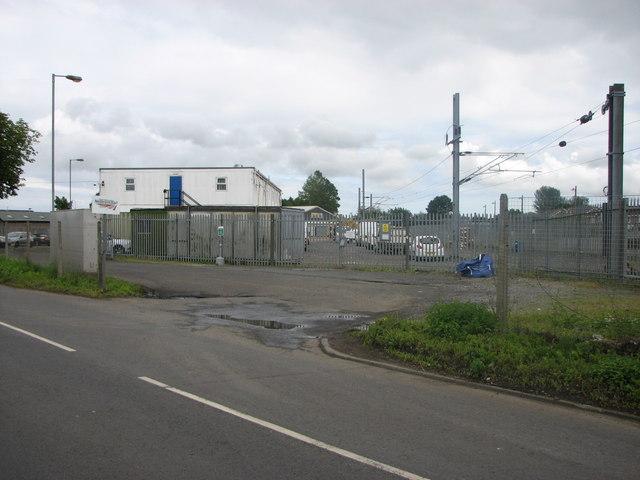Network Rail depot