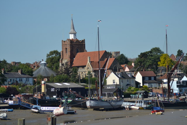 Maldon from the Promenade