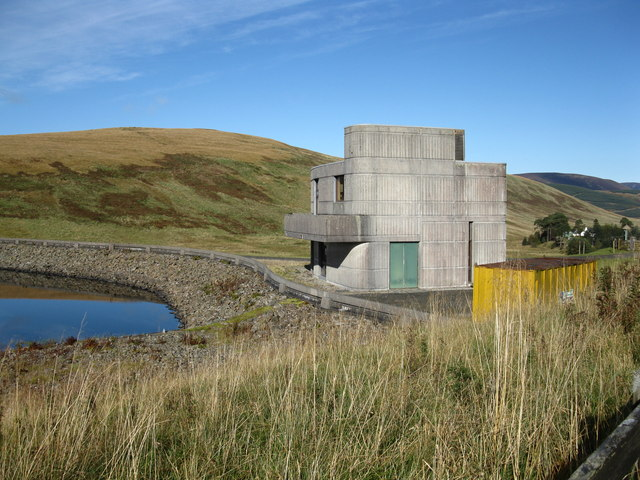 Fruid Reservoir Control Building