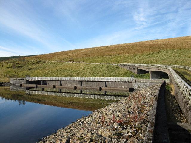 Fruid Dam Spillway