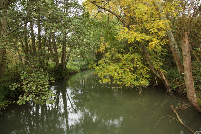 The By Brook before the mill