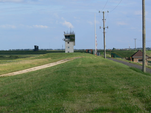 Control tower at RAF Holbeach