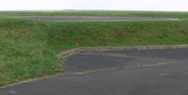 Helipad at RAF Holbeach