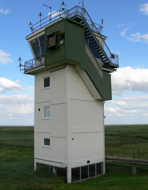 The control tower at RAF Holbeach